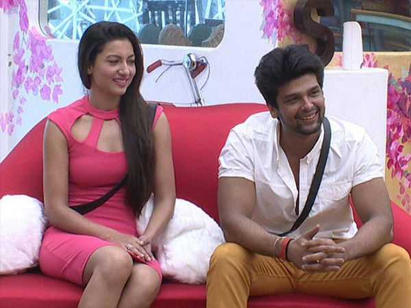 Gauhar And Kushal On Love Seat