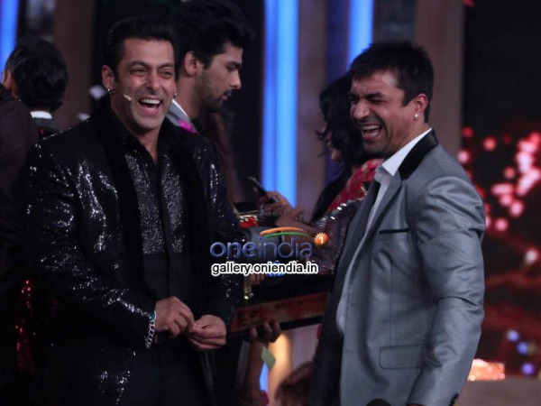 Salman Khan With Ajaz Khan