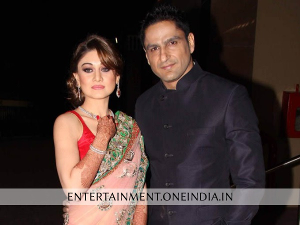 Shefali Zariwala With Husband