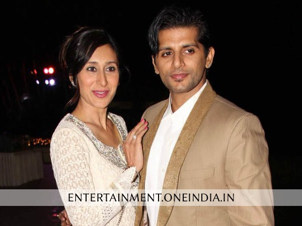 Karanveer Bohra With Wife Tej Sandhu