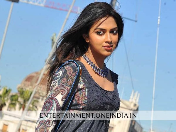 Amala Paul Celebrating New Year In Paris