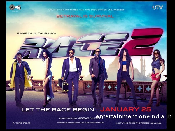 Race 2 - 8th Highest Grosser
