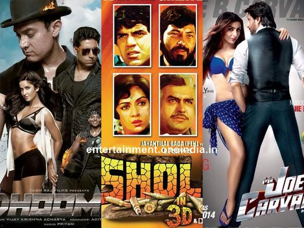 Dhoom 3 Affects Sholay 3D, Mr Joe B Carvalho