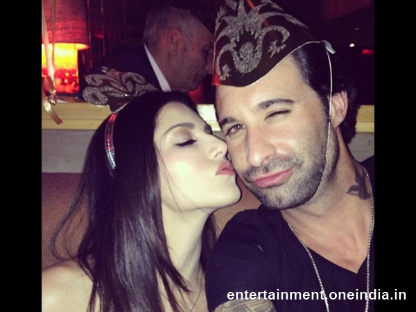 New Year Celebrations of Bollywood Celebrities -Sunny Leone