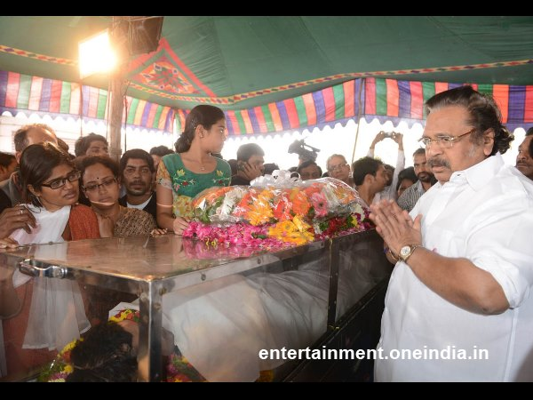 DSR Pays Last Respect To Uday Kiran