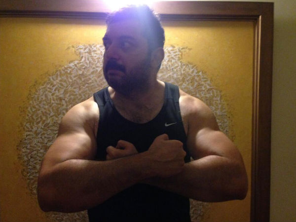Arvind Swamy Shows Off Beefed Up Body