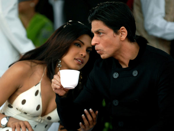 Priyanka and SRK