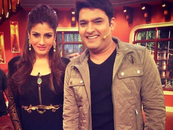 Kapil With Raveena