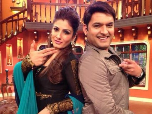 Raveena And Kapil