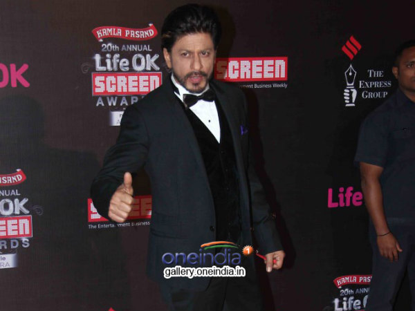 SRK - Best Actor (Popular) Award