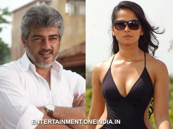 Anushka To Romance Ajith?