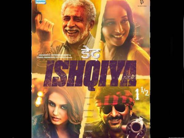 Dedh ishqiya 7 days first week collection at box office - Bollywood box office collection this week ...