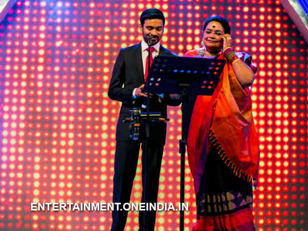 Launch Event Had Usha Uthup And Dhanush