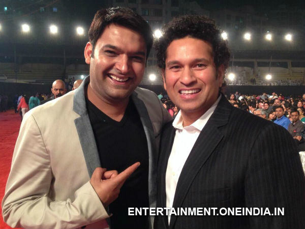 Kapil Sharma With Sachin