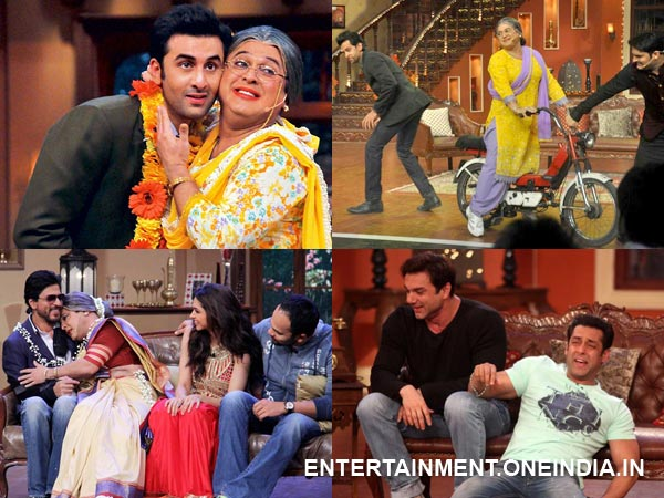 Celebs On Comedy Nights With Kapil
