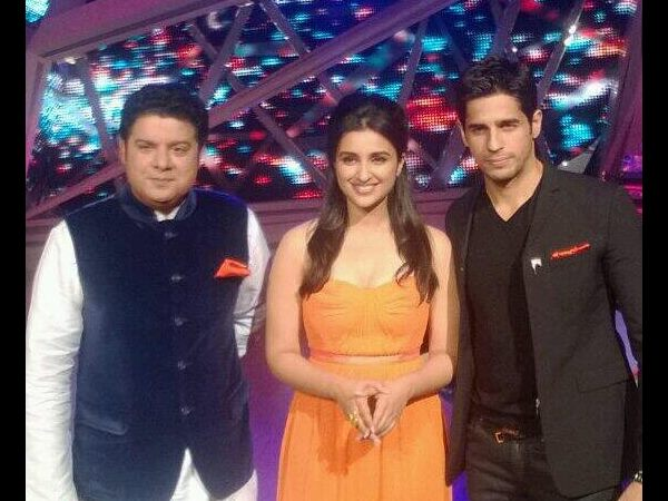 Parineeti, Sajid And Siddharth