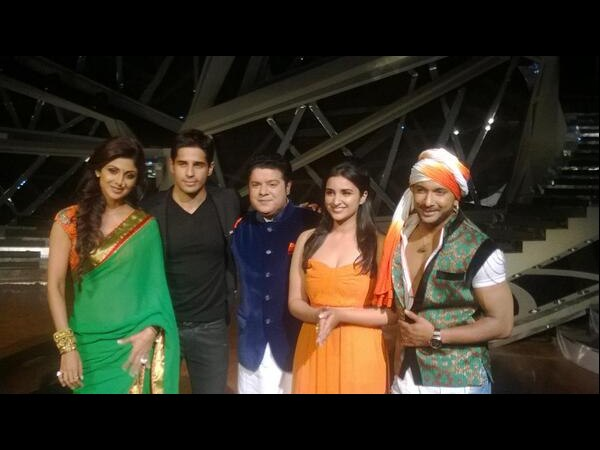 Parineeti And Siddharth