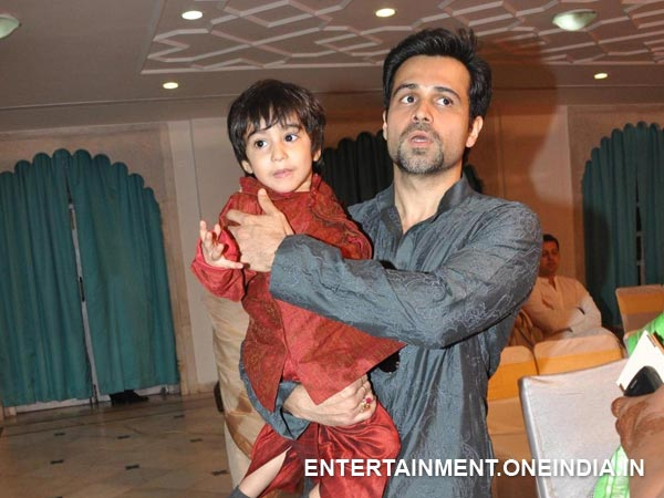 Emraan With His Four Year Old Son Ayan