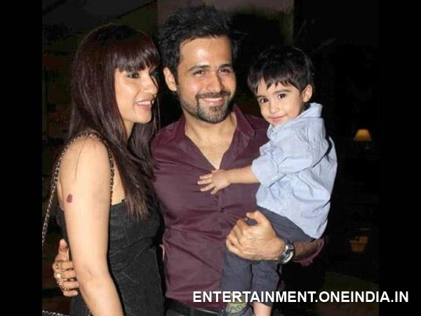 Emraan With Wife And Son Ayan