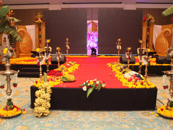 Aaha Kalyanam Audio Launch: A Traditional Set Up
