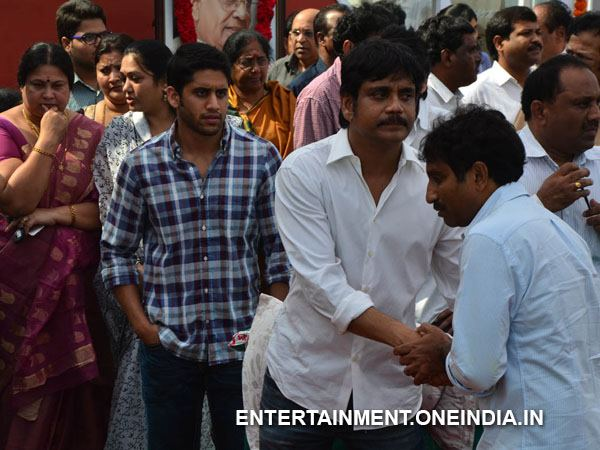 Srinu Vaitla Pays Last Respect To ANR