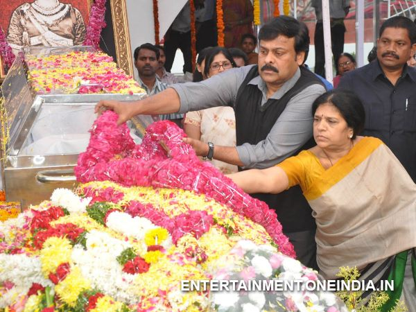Chiru With Wife