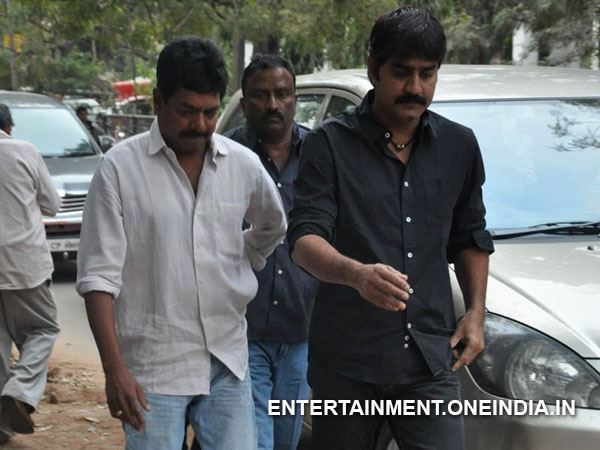 Srikanth Pays Last Respect To ANR