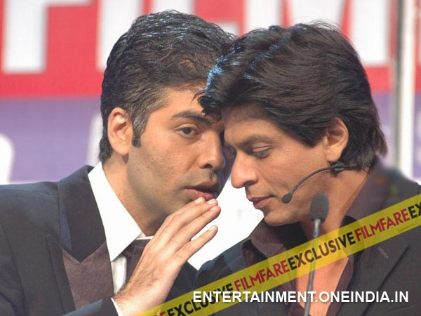 Karan Johar With Shahrukh Khan
