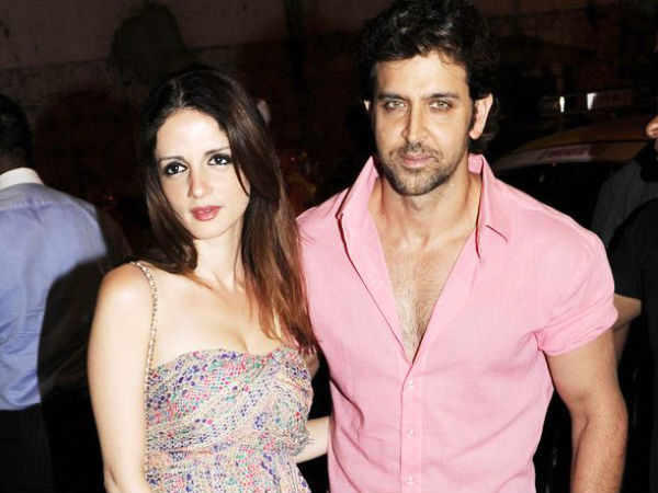 Sussanne and Hrithik