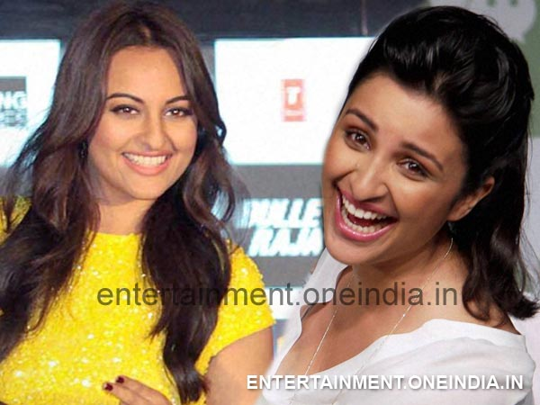 Sonakshi and Parineeti