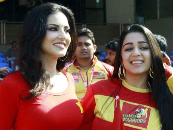 Sunny Leone With Charmy