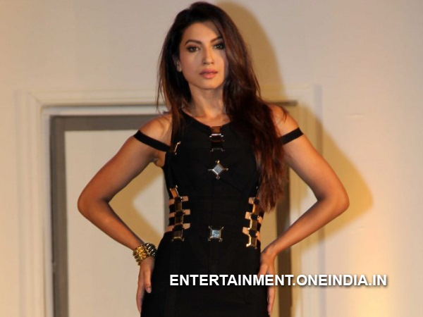Gauhar Khan In Black