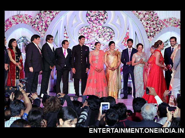 Celebrities At Ahana's Wedding