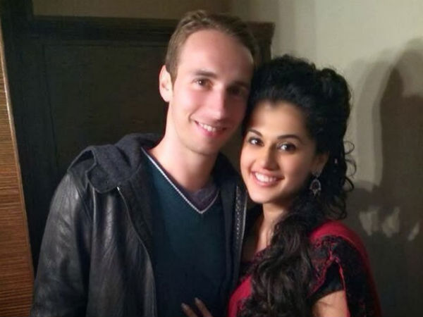 Is Taapsee In Love With Mathias Boe?