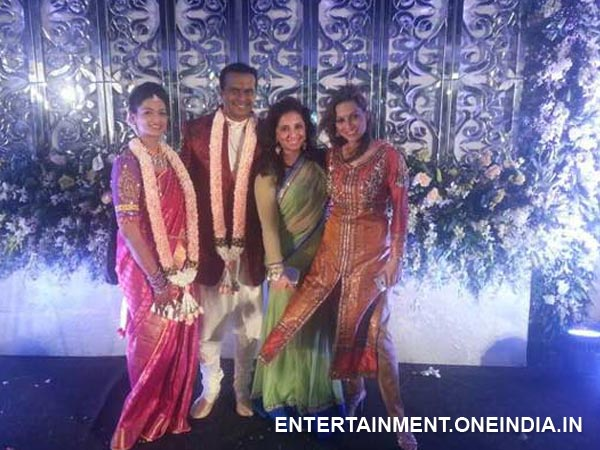 Munisha Khatwani At The Wedding Reception!
