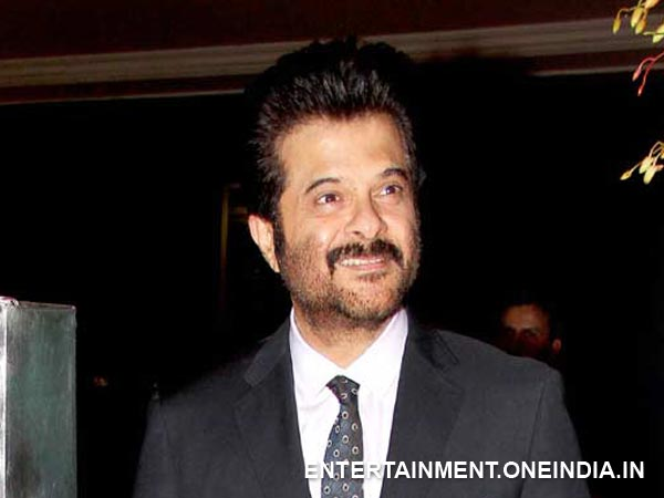 Anil Kapoor At The Wedding Reception!