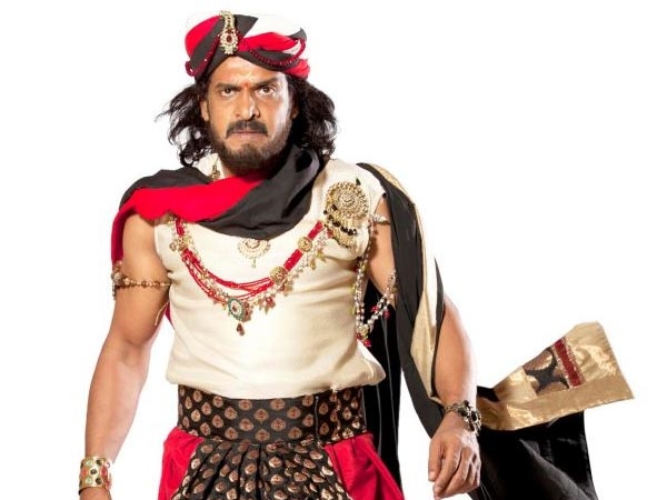 Upendra As Warrior In Brahma