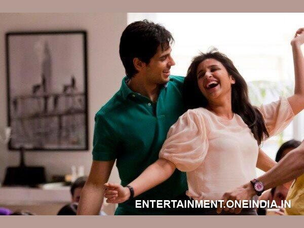 Sidharth, Parineeti - Awesome Chemistry
