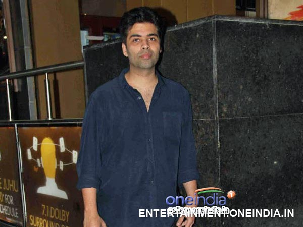 Karan Johar At Hasee Toh Phasee Screening