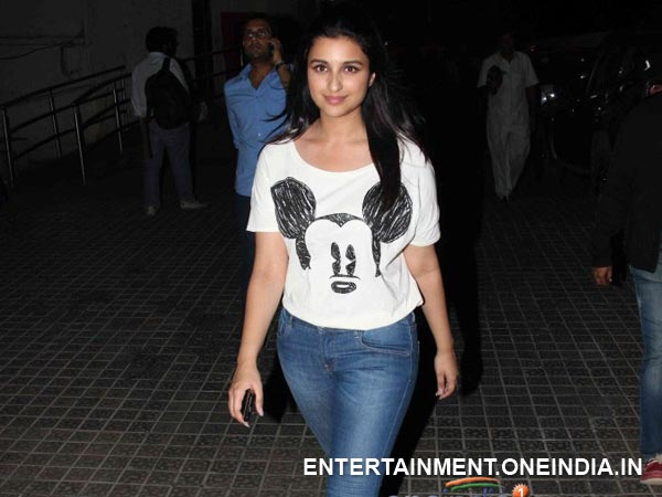 Parineeti At Hasee Tho Phasee Screening