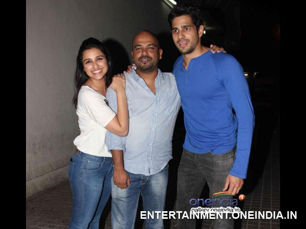 Parineeti-Sidharth At HTP Screening