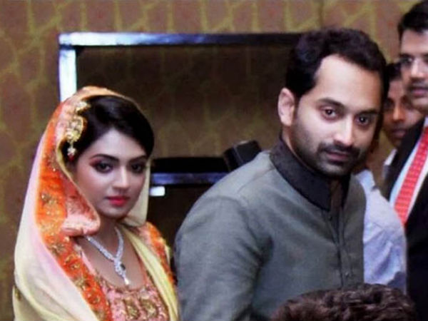 Fahad Fazil Nazriya Nazim To Tie The Knot On August 21 Filmibeat