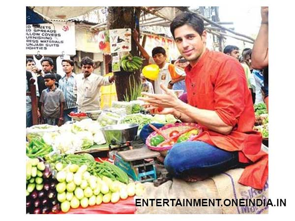 Siddharth Malhotra - Vegetable Seller
