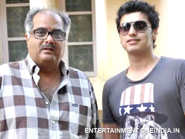 Arjun Kapoor with dad Boney Kapoor