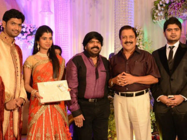 Sivakumar Blesses Newly Married Couple