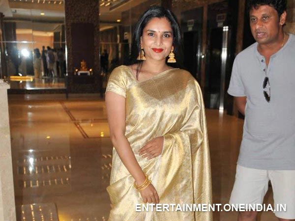 Ramya Shooting For Aryan