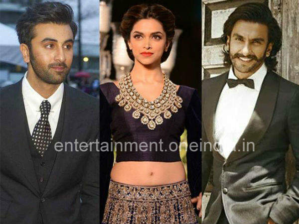 Deepika, Ranbir and Ranveer