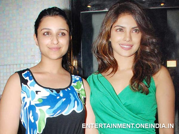 Priyanka and Parineeti Chopra