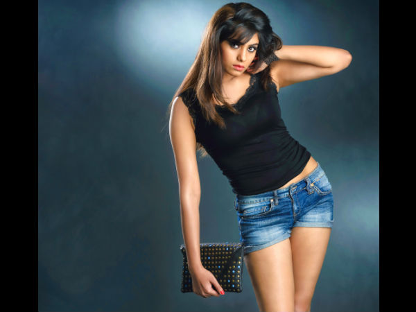 Deepa Sannidhi Sports T-Shirt With Shorts