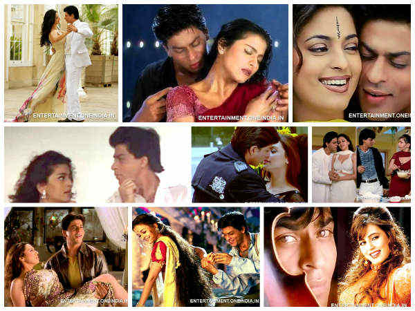 SRK's 20 Evergreen Romantic Songs